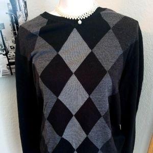 Apt 9 Ladies Wool Sweater-Large-Nice